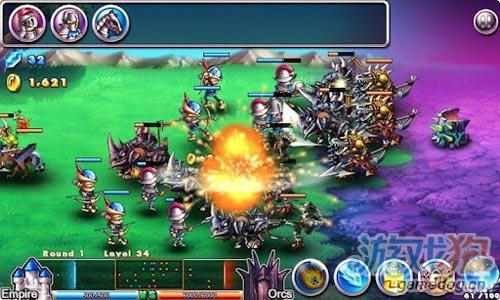 策略游戏:帝国VS兽人 感受战争凝重感4