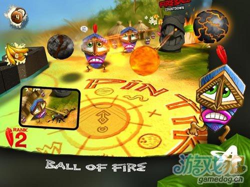 画面清新的3D休闲游戏Pin TikiBall即将上架3