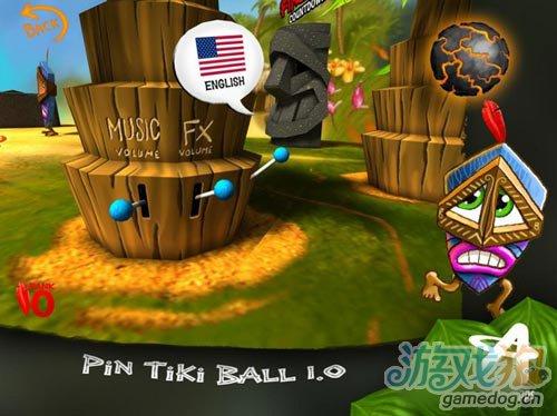 画面清新的3D休闲游戏Pin TikiBall即将上架5