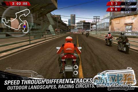 热血竞速游戏:杜卡迪赛车 享受速度与激情的碰撞2