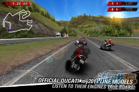 热血竞速游戏:杜卡迪赛车 享受速度与激情的碰撞1