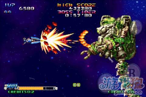 动作射击游戏:流星战机 给你曾经的感觉2