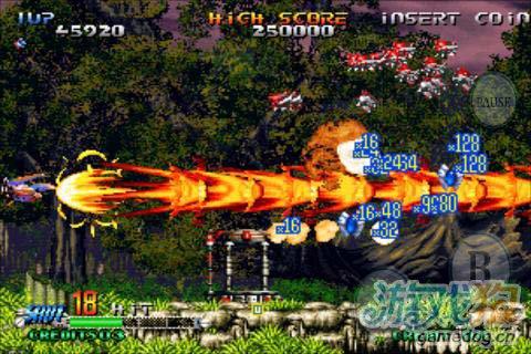 动作射击游戏:流星战机 给你曾经的感觉1