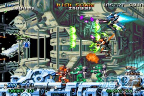 动作射击游戏:流星战机 给你曾经的感觉4