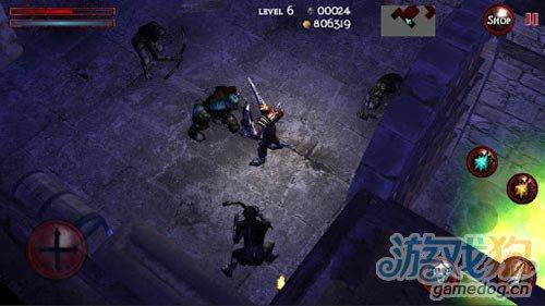 动作游戏:地牢战神 感受地牢中不断的探索和战斗2