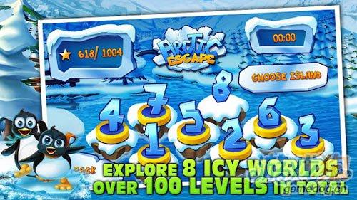 准备好开始挑战吧:北极大逃亡 来拯救可爱的企鹅3