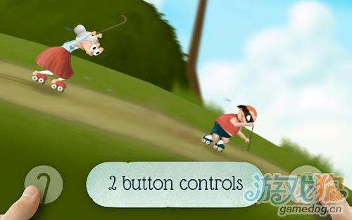 动作游戏:史密斯奶奶 拼老命只为苹果5