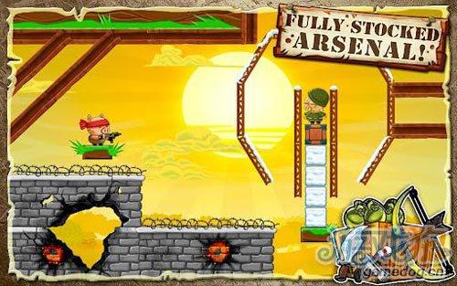 动作游戏:英雄哈勃 英勇小猪拯救同伴2