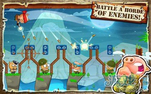 动作游戏:英雄哈勃 英勇小猪拯救同伴3