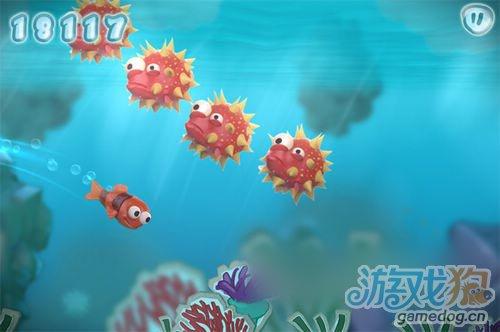 海底背景的游戏 Fin Friends将有望九月上架3