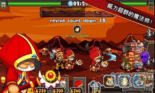 塔防游戏:斯巴达战神 消灭入侵者保卫自己的家园3