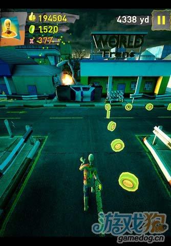 动作游戏:末日狂奔 紧张刺激的跑酷逃离危险地带5