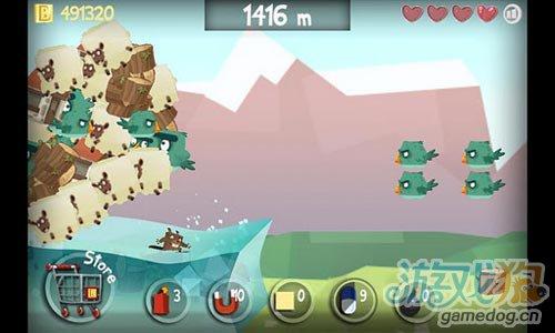 休闲游戏:冲浪海狸 诙谐夸张刺激惊险的冲浪之旅1