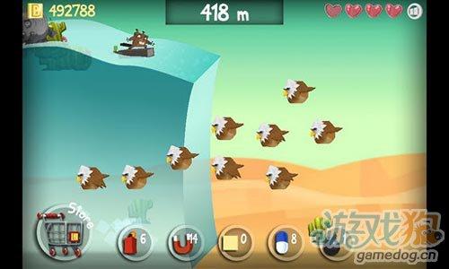 休闲游戏:冲浪海狸 诙谐夸张刺激惊险的冲浪之旅3