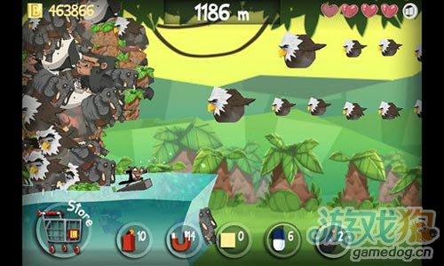 休闲游戏:冲浪海狸 诙谐夸张刺激惊险的冲浪之旅4