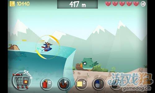 休闲游戏:冲浪海狸 诙谐夸张刺激惊险的冲浪之旅2