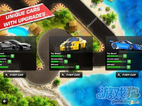 迷你精致的赛车小游戏:赛车对决2 评测4