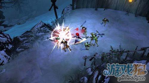 动作RPG游戏茜色猎魔姬进入测试阶段游戏发布在即2