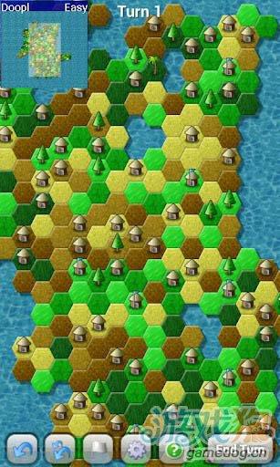 中世纪穿越回合制策略游戏:攻城略地 将登录安卓3