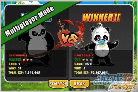 横版跑酷游戏:熊猫屁王 快来成长为一只无敌熊猫1