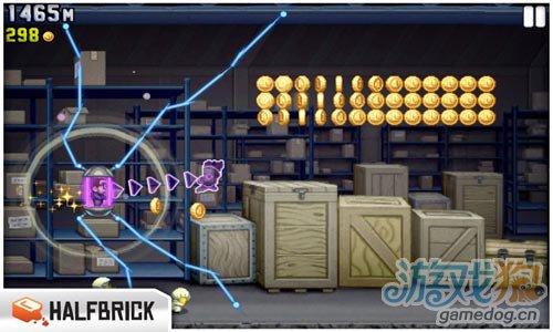 横版动作游戏:火箭飞人 逃离神秘工厂3