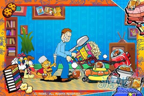休闲游戏:加菲猫总动员食物大作战 评测1