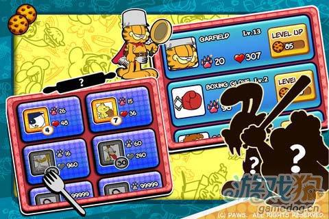 休闲游戏:加菲猫总动员食物大作战 评测3