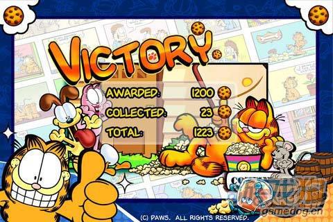 休闲游戏:加菲猫总动员食物大作战 评测5