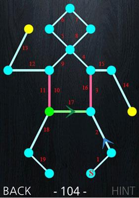 安卓游戏排行榜2013_一笔画游戏攻略第101-110关_游戏狗安卓游戏