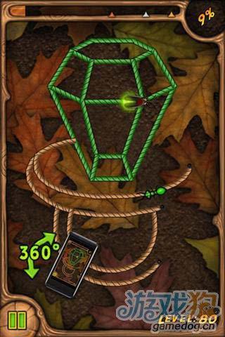 休闲益智游戏:烧绳子 来完美的通关吧2