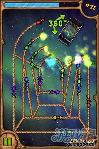 休闲益智游戏:烧绳子 来完美的通关吧5