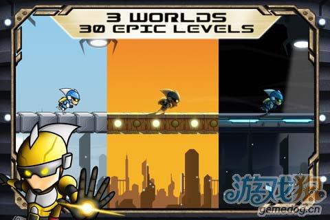 华丽的动作游戏:重力小子 带你进入一个奇妙世界2