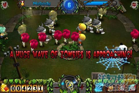 安卓休闲游戏:僵尸猎人 去消灭僵尸吧3