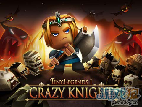 动作游戏:小小传奇狂战士 真方块无双勇士历险记1