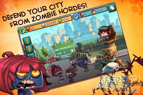 休闲游戏:僵尸勿近 打造你的末日堡垒2