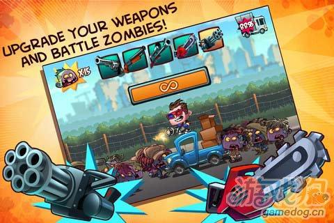 休闲游戏:僵尸勿近 打造你的末日堡垒4