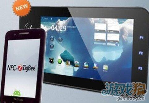 全球首款支持NFC ZigBee技术平板问世