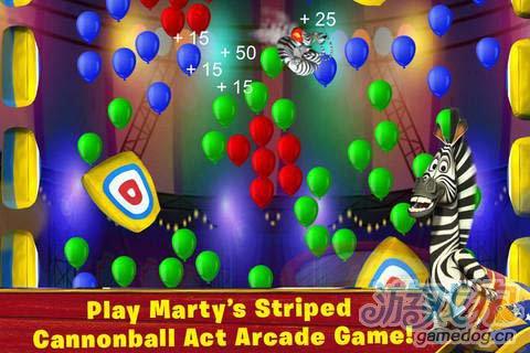 热门动画同名游戏:马达加斯加加入马戏团精彩上演3