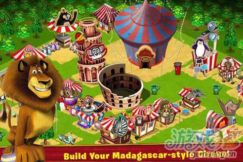 热门动画同名游戏:马达加斯加加入马戏团精彩上演2