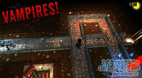 CBE Software决定多平台发布 动作解密游戏吸血鬼1