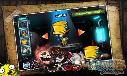 横版冒险游戏:怪盗鲁邦 偷走邪恶伯爵所有的宝石2