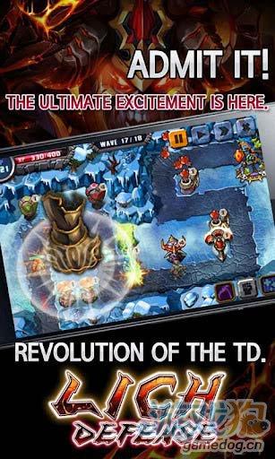 富有新意的塔防游戏:巫妖塔防 全力守卫你的领地1