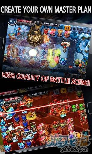 富有新意的塔防游戏:巫妖塔防 全力守卫你的领地4