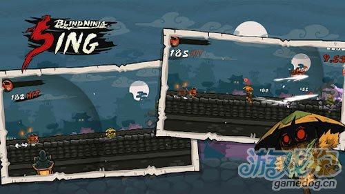 横版动作游戏:瞎子忍者 打倒来袭敌人3