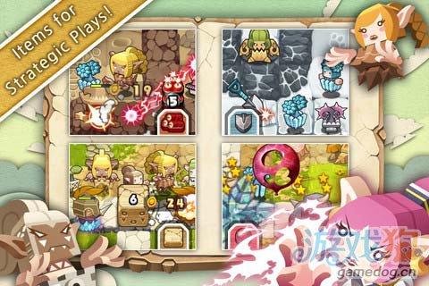 可爱的塔防游戏:精灵守护者 保卫家园4