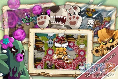 可爱的塔防游戏:精灵守护者 保卫家园5