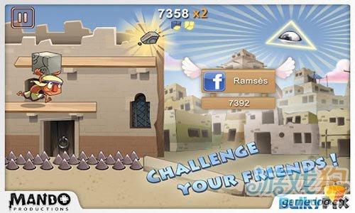 跑酷游戏:巴比伦狂奔 建造恢宏通天塔4