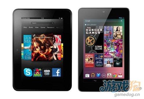 谷歌Nexus 7网络流量远超Kindle Fire HD