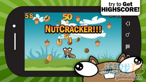 休闲游戏:松鼠吃坚果 快来帮助松鼠吃到美味坚果4