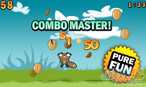 休闲游戏:松鼠吃坚果 快来帮助松鼠吃到美味坚果5